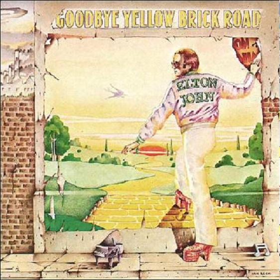 elton john album covers